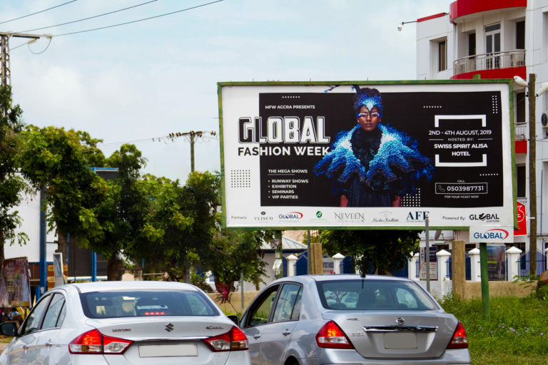 GLOBAL OUT OF HOME MEDIA PARTNERS WITH GHANA FASHION WEEK